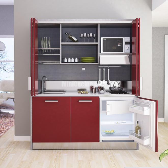 Mini cucine a scomparsa monoblocco minicucine - Mini cucina mondo convenienza ...