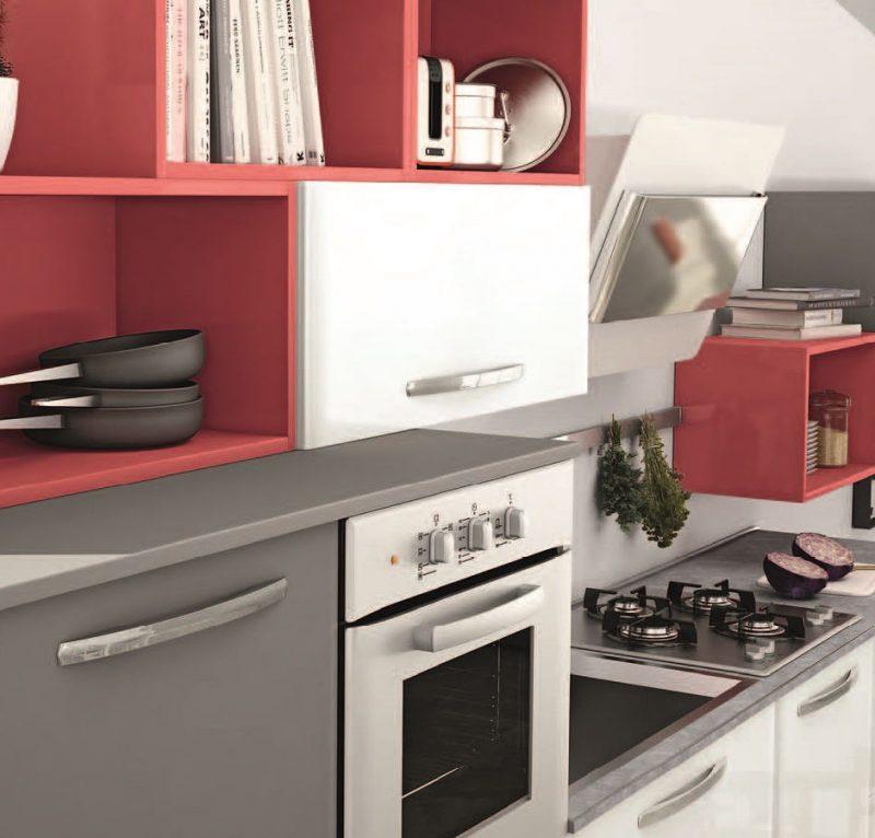 Cucine a vista componibili e monoblocco mini cucine moderne per piccoli spazi - Cucine piccoli spazi ...