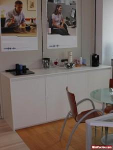 Base cucina con lavello e elettrodomestici a scomparsa 1