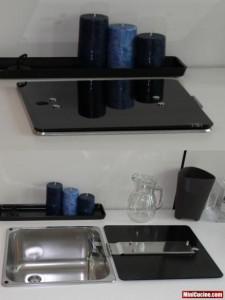 Base cucina con lavello e elettrodomestici a scomparsa 2