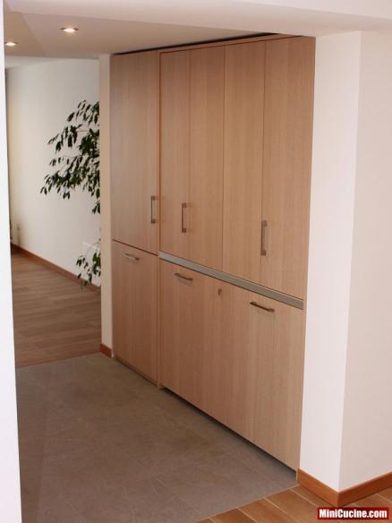 Cucina a scomparsa per monolocale 2 - Mini cucine per monolocali ...
