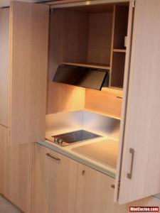 Cucina a scomparsa per monolocale 6