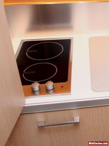 Cucina a scomparsa per monolocale 7