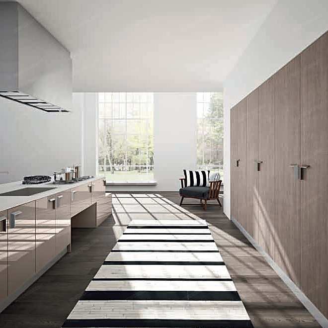 Cucina su misura per loft