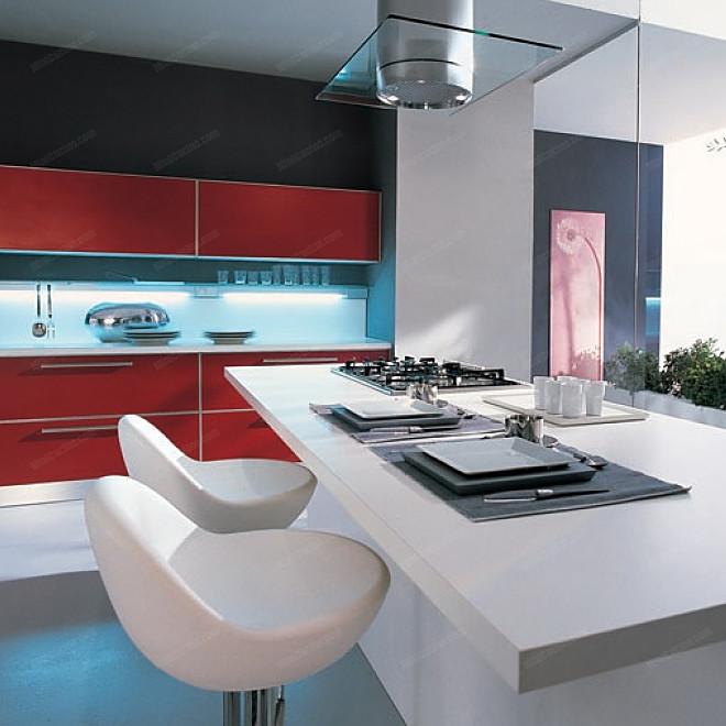 Cucina componibile con isola su misura - Cucina con isola misure ...