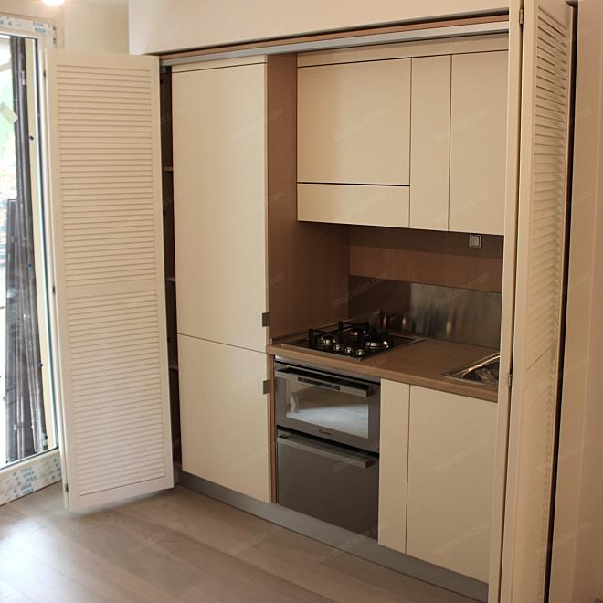 Cucine su misura minicucine cucine moderne per piccoli spazi - Cucine compatte ikea ...