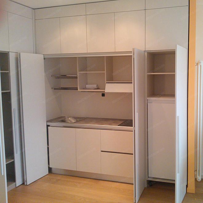 Cucine per piccoli spazi cucina rustica moderna soluzione piccoli spazi with cucine per piccoli - Cucine piccoli spazi ...