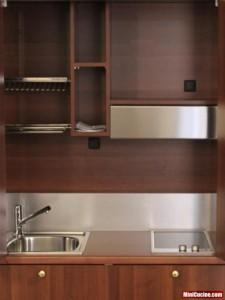 Monoblocco cucina in ambiente classico 4