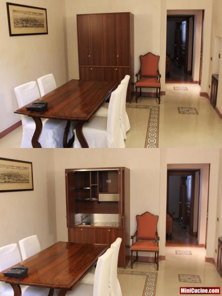 Monoblocco cucina in ambiente classico 9