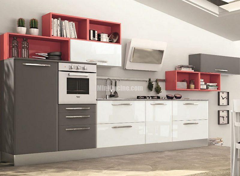 01 cucina componibile a vista mini cucine moderne per piccoli spazi - Cucine per ambienti piccoli ...