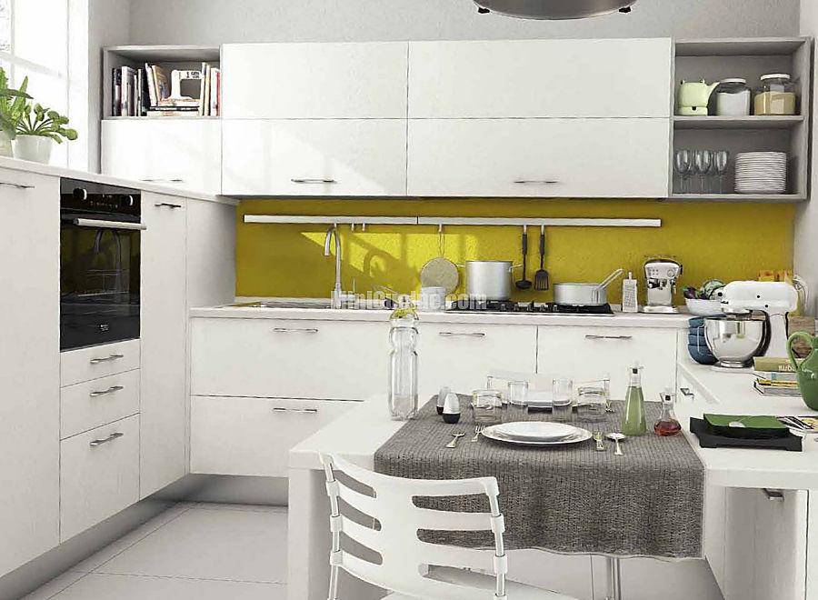 12 cucina moderna componibile a vista | Mini Cucine moderne per ...