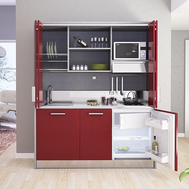 cucine a scomparsa monoblocco minicucine