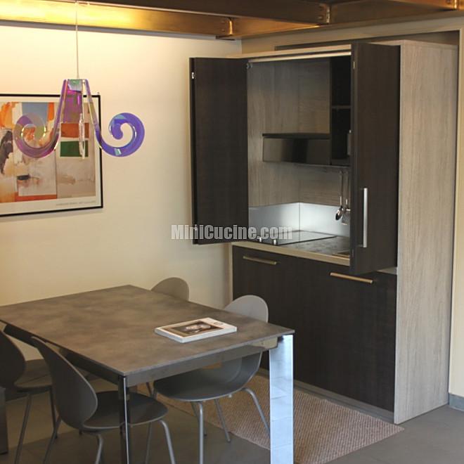 Cucine a scomparsa minicucine cucine moderne per piccoli spazi - Cucine piccoli spazi ...