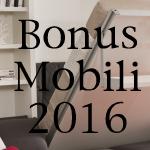 bonus mobili 2016, giovani coppie
