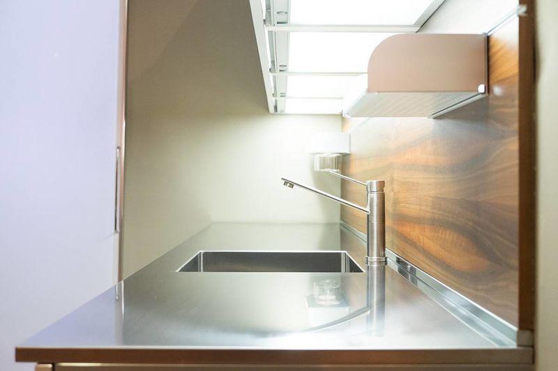 Cucina piccola: illuminazione