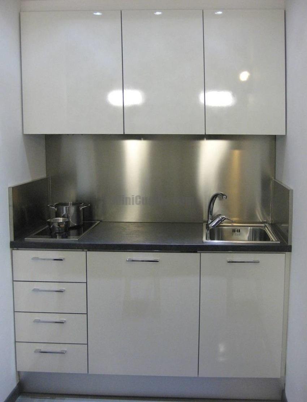 Mini cucina su misura a vista - Cucina a vista ...