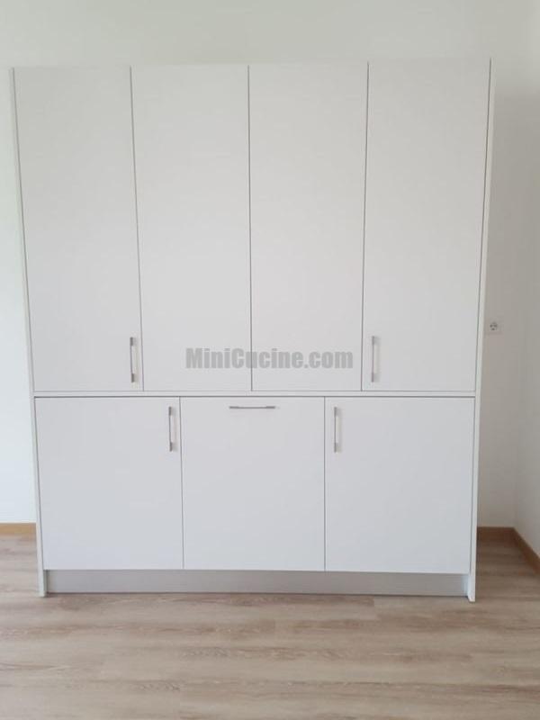 Mini cucina a scomparsa da cm 184